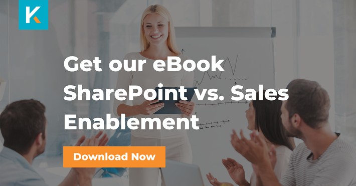 Get the eBook - SharePoint vs. Sales Enablement