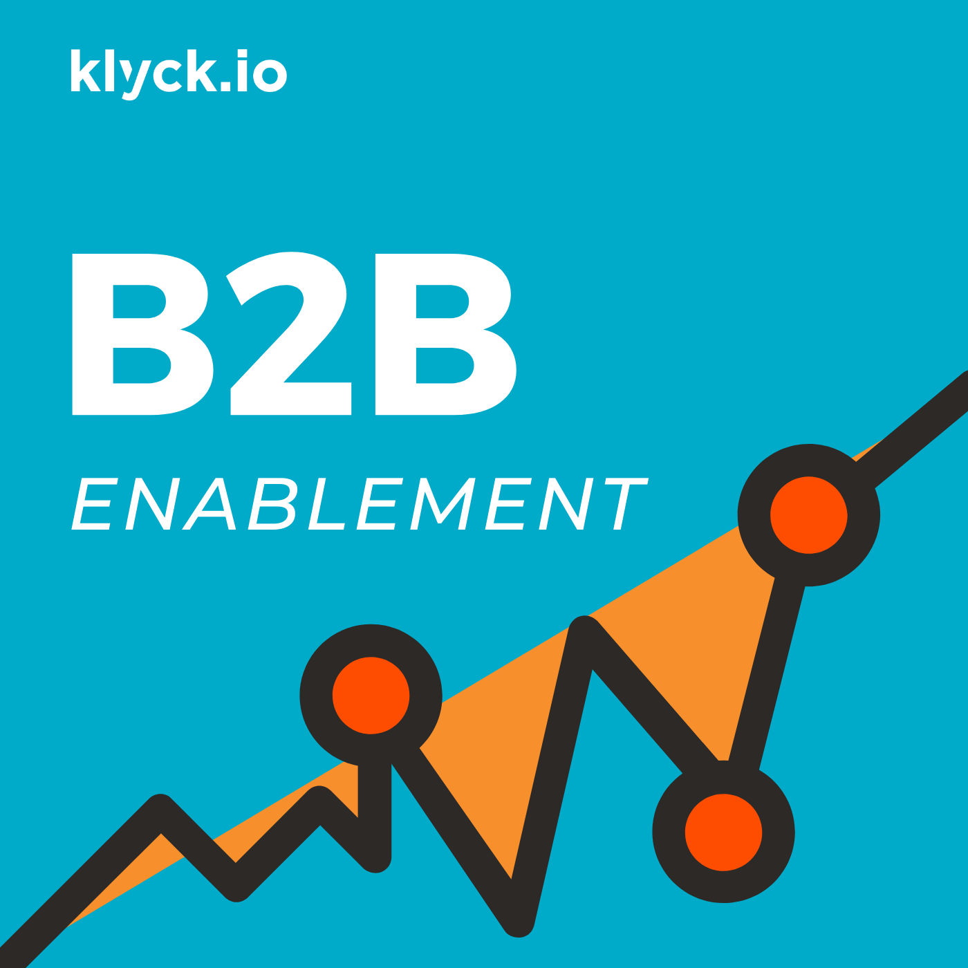 B2B Enablement - A sales enablement podcast from Klyck.io