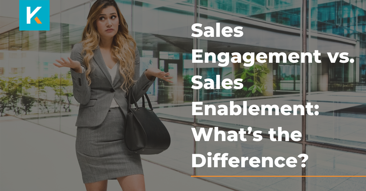 Sales engagement vs sales enablement: what's the difference?