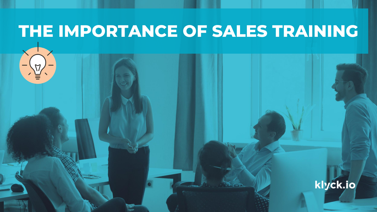 The importance of sales training for B2B
