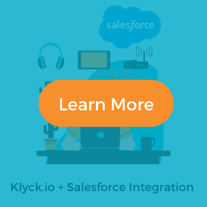 Learn more about Klyck.io salesforce integration