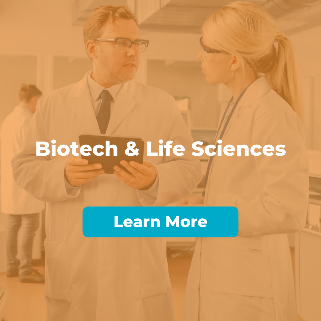 Biotech and Life Sciences hover