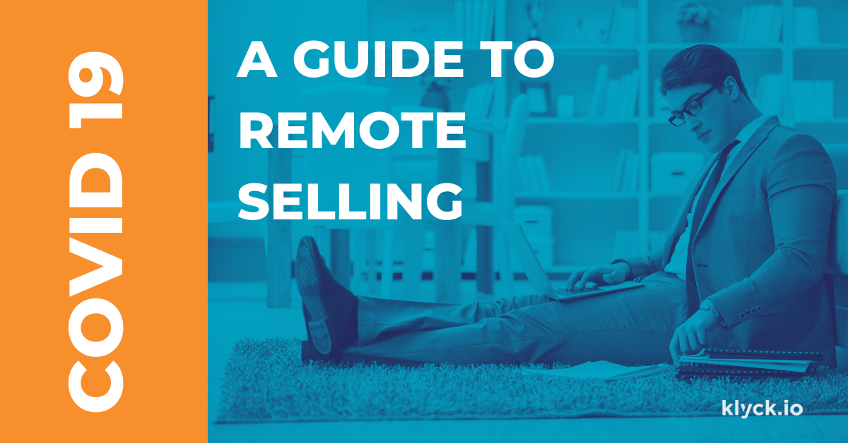COVID 19 Remote Work with Sales Enablement
