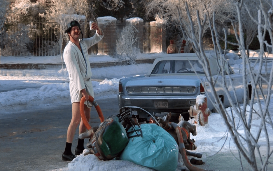 Cousin Eddie Zoom background